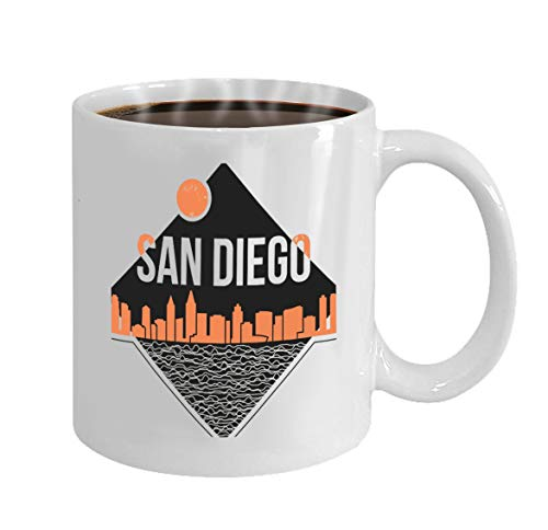Funny Gifts for Halloween Party Gift Coffee Mug Tea san diego graphic design print typography emblem