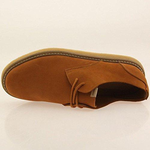 Pekar Män Crago Ofodrad Läder (brun / Sudan Brun / Ljus Crepe)