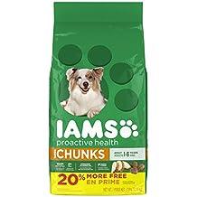 Iams Proactive Health Adult Chunks Premium Dog Food, 3.18 kg