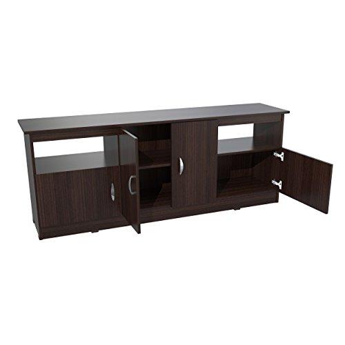 Inval MTV-6719 Contemporary Flat-Screen TV Stand, 60-Inch, E