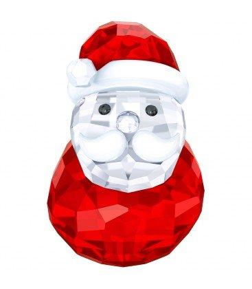 Swarovski Rocking Santa Holiday Figurine