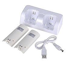 Wii Accesorio Dual Compatible Con Wii (Blanco)