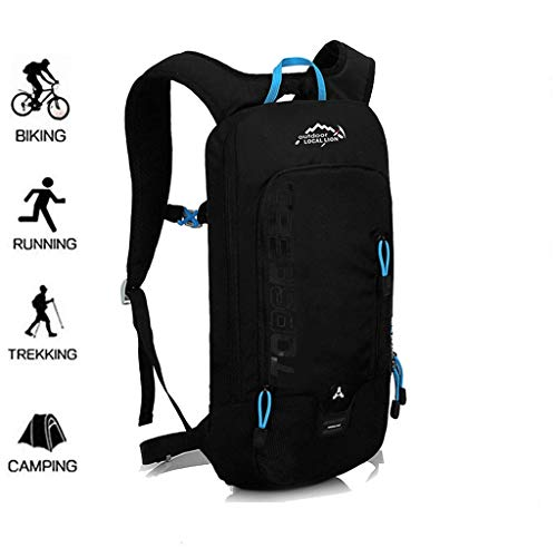 KELUINA Bicycle Backpack, Bike Hydration Packs, Cross Country Running Bag,6L Lightweight Ski Backpack (Mini, Compact, Waterproof), Small Backpack for Hiking Camping Mountaineering Skiing