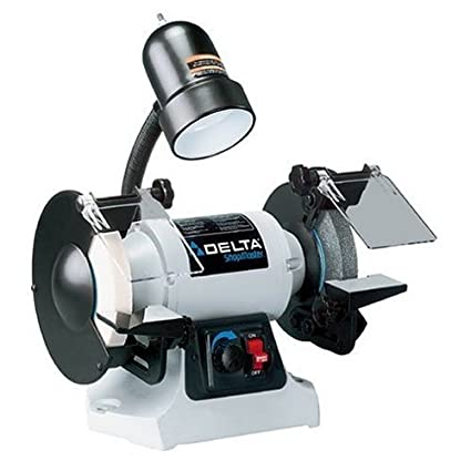 Factory Reconditioned Delta Gr250r Shopmaster 6 Inch Bench Grinder