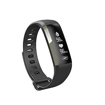 WMWMY La frecuencia Cardíaca con M2 Smart Oxímetro de Oxígeno en la Sangre Deportes Tracker Brazalete Deportivo para iOS Smart Android Reloj Inteligente ...