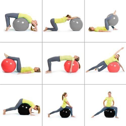 Pelota de Gimnasia Yoga Pilates 55 cm, 65 cm, 75 cm, 85 cm, 95 cm ...