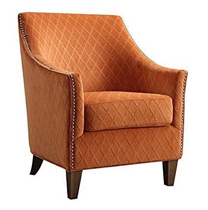 Amazon.com: Hebel Accent Chair, Wembley Pecan | Model ...