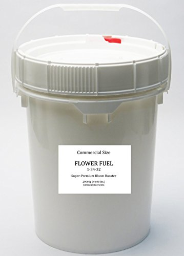 Flower Fuel 1-34-32, 20000g - The Best Bloom Booster for Bigger, Heavier Harvests (20000g)