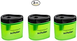 Prismacolor Scholar Colored Pencil Sharpener (1774266) (3-Pack)
