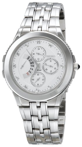 Seiko Men's SRL001 Le Grand Sport Retrograde Day Indicator Watch