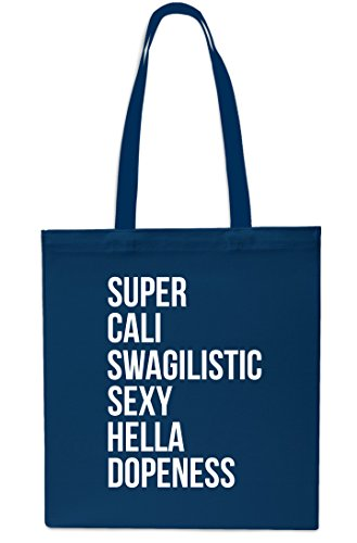 10 Cali Navy Swagilistic Shopping Gym 42cm Small x38cm Beach Super Navy litres Bag Tote 6zdOTxq