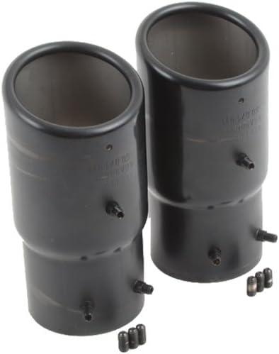 Endschalldämpferblende 2 X 76 Mm Stainless Steel Black Chrome 5g0071911 041 Auto