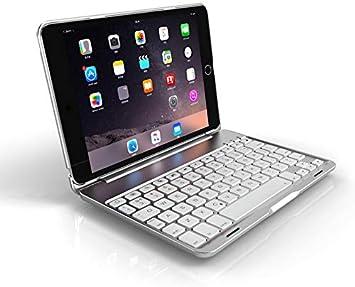 Strnry iPad Mini 4 Funda Teclado Estuche Protector De Ángulo ...