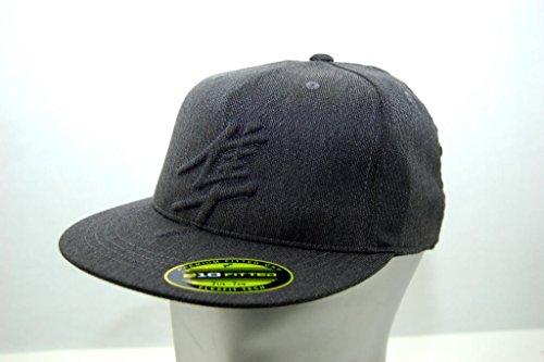 Suzuki Embroidered Hayabusa Kanji Logo Hat Grey Flexfit
