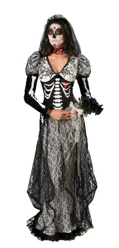 Boneyard Bride Costume - Large - Dress Size 10-14