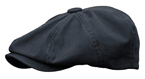 Rooster Washed Cotton Newsboy Gatsby Ivy Cap Golf Cabbie Driving Hat (XX-Large, ()