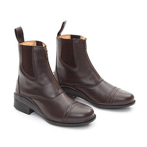 """""""Oxford"""" rendimiento Paddock botas equitación calzado estable patio [marrón] [42/8]"""