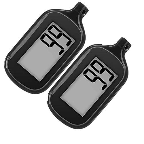 2 Pack Simple Step Counter Walking 3D - New Pedometer Balance
