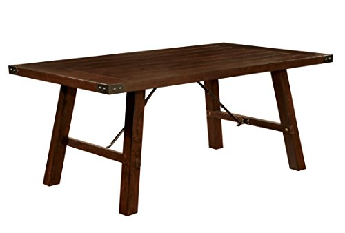 Furniture of America Zaria Industrial Dining Table  : 416LlLHH9kL from www.laminatepanel.com size 500 x 338 jpeg 16kB