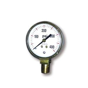 US Forge 08032 Victor Style High Pressure Gauge for Acetylene Regulators 0-400 P.S.I.