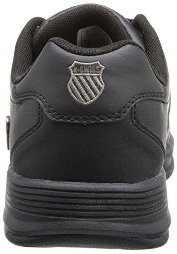 K-Swiss II Sneaker,Black/Black,9 M US