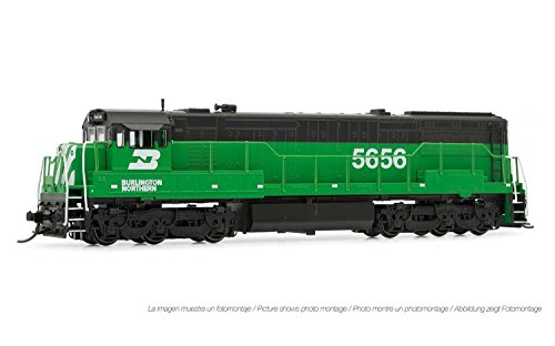 Arnold Burlington Northern GE U28C DCC Ready #5656 N Scale Locomotive HN2315 ()