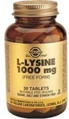 L-Lisina 250 comprimidos 1000 mg de Solgar