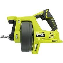 "Ryobi P4001 One+ 18V Drain Auger, Tool Only, 11.22 "" x 14.606 "" x 6.89"""