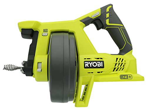 Ryobi P4001 One+ 18V Drain Auger, Tool Only, 11.22
