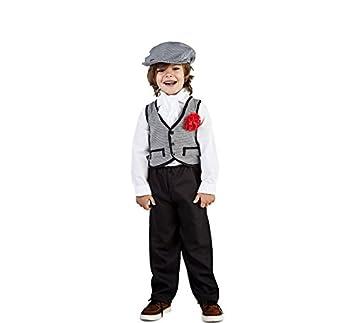 Disfraz de Madrileño Chulapo Niño (5-6 años)