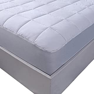 """Allrange 233TC Essential Cotton Cover Mattress Pad(King), Mattress Top, Mattress Protector, 100% Cotton Quilted, 15"""" Pocket Stretch Up to 16"""", Snug Fit, Machine Washable"""