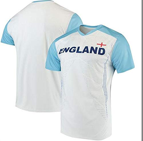 Outerstuff World Cup Soccer Men's Short Sleeve Jersey Tee, White, X-Large (World Adidas Cup England)