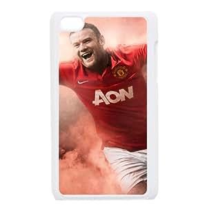 Wayne Rooney funda iPod Touch 4 caja funda del teléfono celular blanco cubierta de la caja funda EEECBCAAJ07732