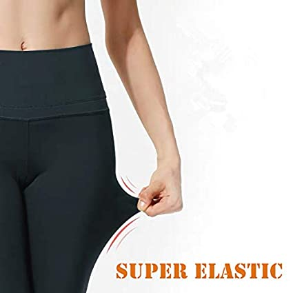 Running Yoga Reg /& Plus Size YOLIX High Waisted Capri Leggings for Women Tummy Control Soft Opaque Slim Tights for Cycling