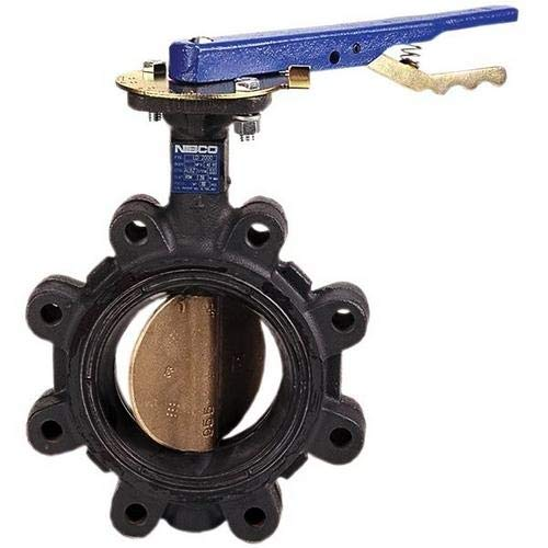 NIBCO NLQ100K, LC-20003 Butterfly Valve, Cast Iron, EPDM Seat, 6''