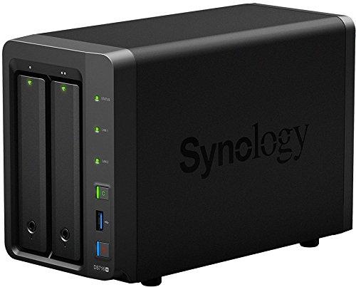 Synology DS716+II 2 Bay Bureau Boîtier NAS product image
