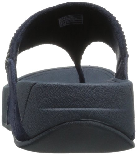 Fitflop Rokkit In Suede Super Navy