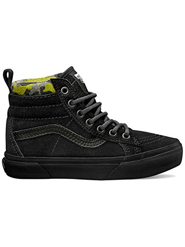 VansSk8-hi Mte - Zapatillas Unisex Niños Negro (MTE black/lime punch)