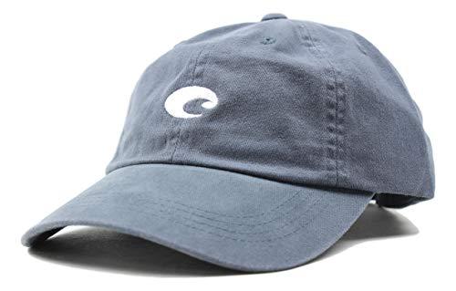 (Costa Del Mar - Costa Twill Mini Logo Hat - Slate)