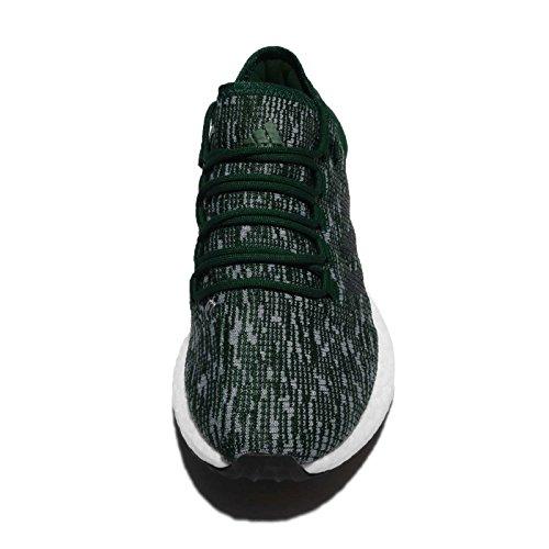 Adidas Hommes Pureboost, Vert / Noir Vert / Noir