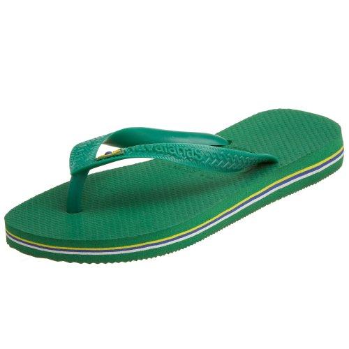 Unisex Adulto Brasil Infradito Havaianas Verde 4000032 w4zHn0