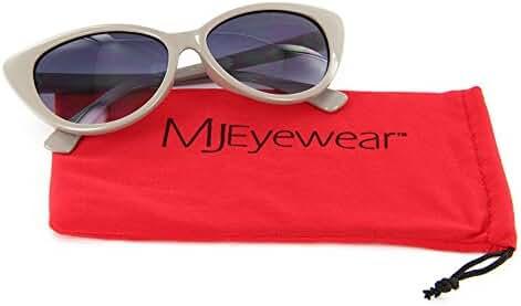 Women Mod Chic Super Cat Eye Sunglasses Vintage Fashion