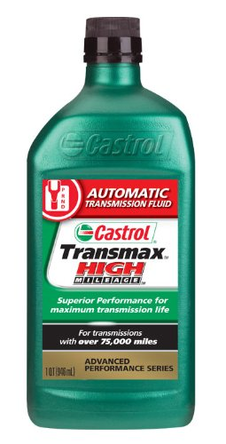 Atf Z1 Transmission Fluid (Castrol 06812 Transmax High Mileage Automatic Transmission Fluid - 1 Quart)