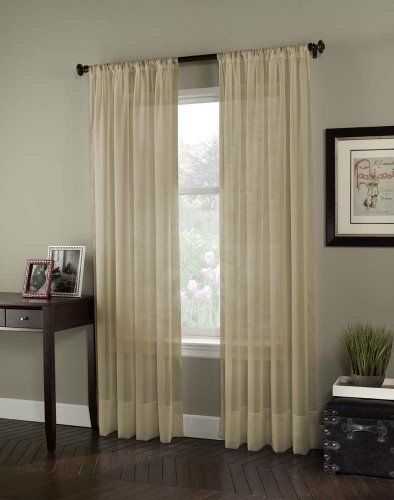 Curtainworks Voile Sheer Curtain Antique product image