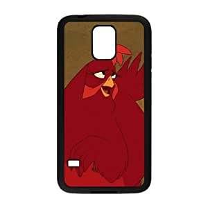 Home on the Range Character Audrey the Chicken Samsung Galaxy S5 Cell Phone Case Black GF7184438