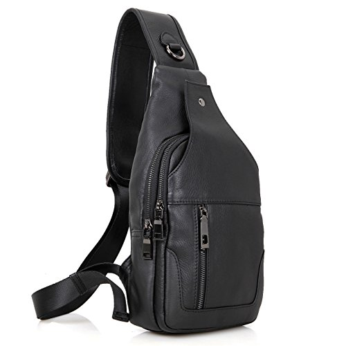 Grain Leather Backpack - 2