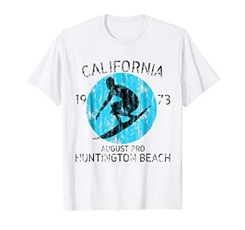 California Huntington Beach Vintage T-Shirt ()