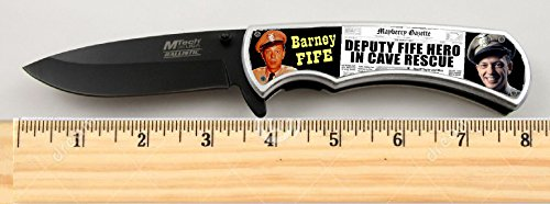 Barney Fife Andy Griffith Show Limited Edition Tactical Spring Assisted Knife 4.5