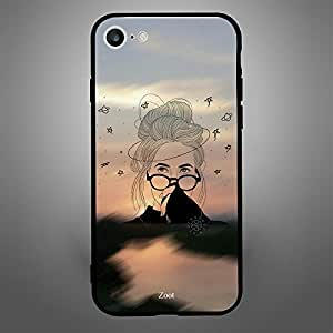 iPhone 6/ 6s Case Cover Doodle Girl Glasses, Zoot Protective Casing Modern Trendy Design Covers & Cases