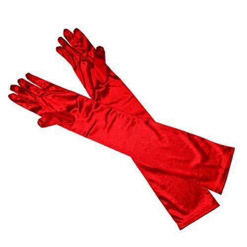 Vincenza Long Evening Gloves Satin Elbow Gloves Bridal Fancy Dress Gloves Wedding Prom Opera Gloves Style for Women UK STOCK Lgloves1